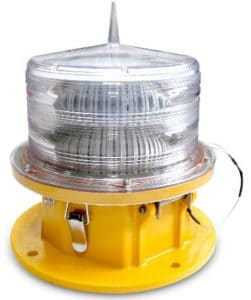 APS LM40 Medium Intensity Aviation Obstruction Light