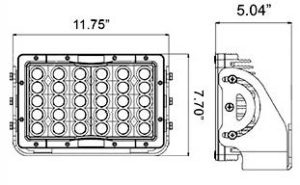 Vision X Cube LED Pitmaster - VX-CPM160PE