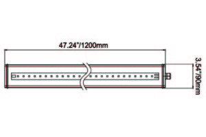 Vision X 4-Foot Linear LED Light