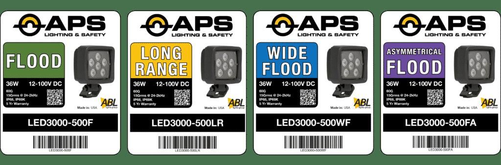 APS Colour-coded Labels