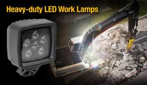 ABL's LED3000-500 Series is a compact and lightweight work lamp with class-leading EMC and IP ratings