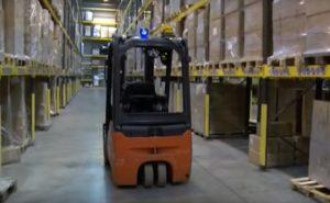 ABL 500 LED Blue/Red – Forklift Warning Light