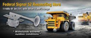 Federal Signal 52 Resonating Horn