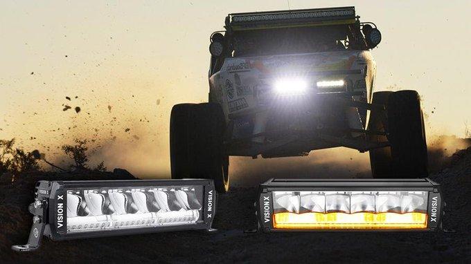 Vision X Shocker Dual Action LED Light Bar