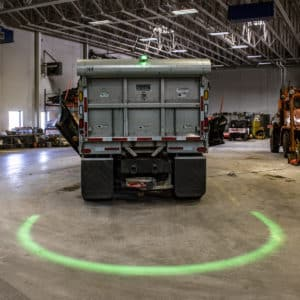 JWS Model 777 LED ARC - Green Warning Light