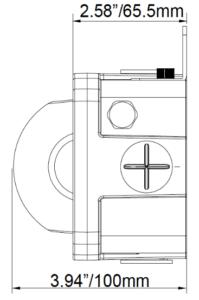 Vision X 10W Junction Box - Dark Skies Series