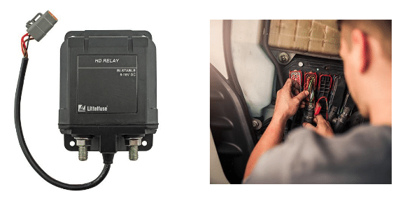 Littelfuse Bi-Stable Remotely-Operated Disconnect Relay