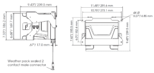 eHorn-HV High-Vibration Resistant Electronic Horn