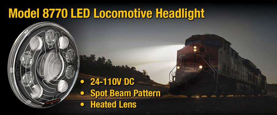 JWS 8770 LED Locomotive Headlight