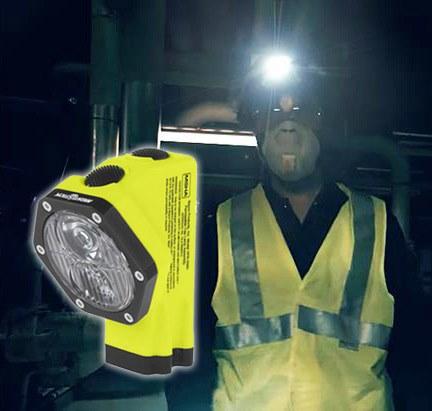 Bayco Dual Light Head Lamp