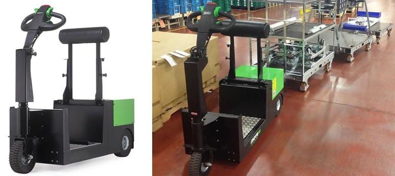 Case Study: Electric Material Handling Trolley