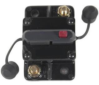 Phillips 200A High Capacity Circuit Breaker – Manual Reset