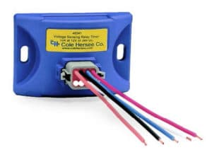 Cole Hersee FlexMod Voltage Sensing Relay and Timer Series