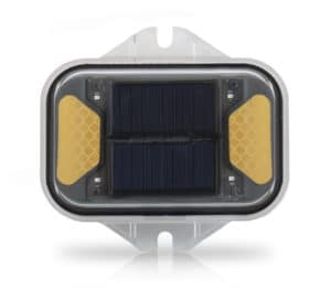 LED Solar Amber Flasher & Warning Light