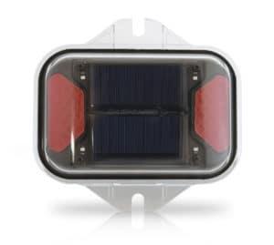 LED Solar Red Flasher & Warning Light
