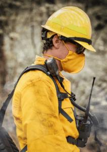 True North Gear Wildland Face Mask Yellow