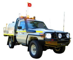 ECCO Mine Bar with LED Rotating Beacon Vehicle