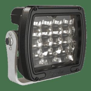 J.W. Speaker Model 526 Dual White Anti-Glare LED Work Light - Black Housing