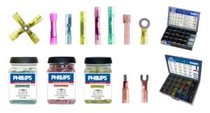 Phillips Sta-Dry Crimp and Seal Heat Shrink Terminals
