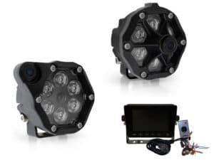 J.W. Speaker Model Trail 6 Round LED Off Road Lights