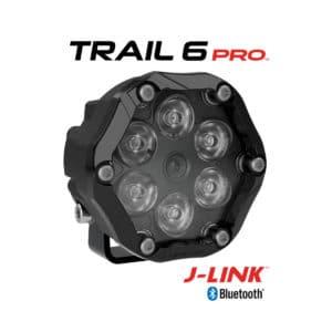 J.W. Speaker Model Trail 6 Round LED Off Road Lights - Pro