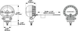 J.W. Speaker Model 777 GEN 2 – LED Forklift Warning Light & ARC Safety Light