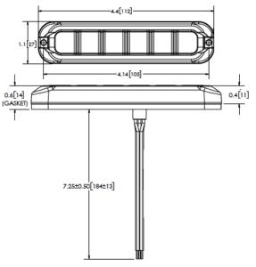 ECCO ED3794 Ultraflex Series - Bezel