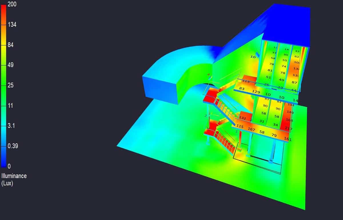Case Study: Lighting Design for Power Plant Cooler Rooms